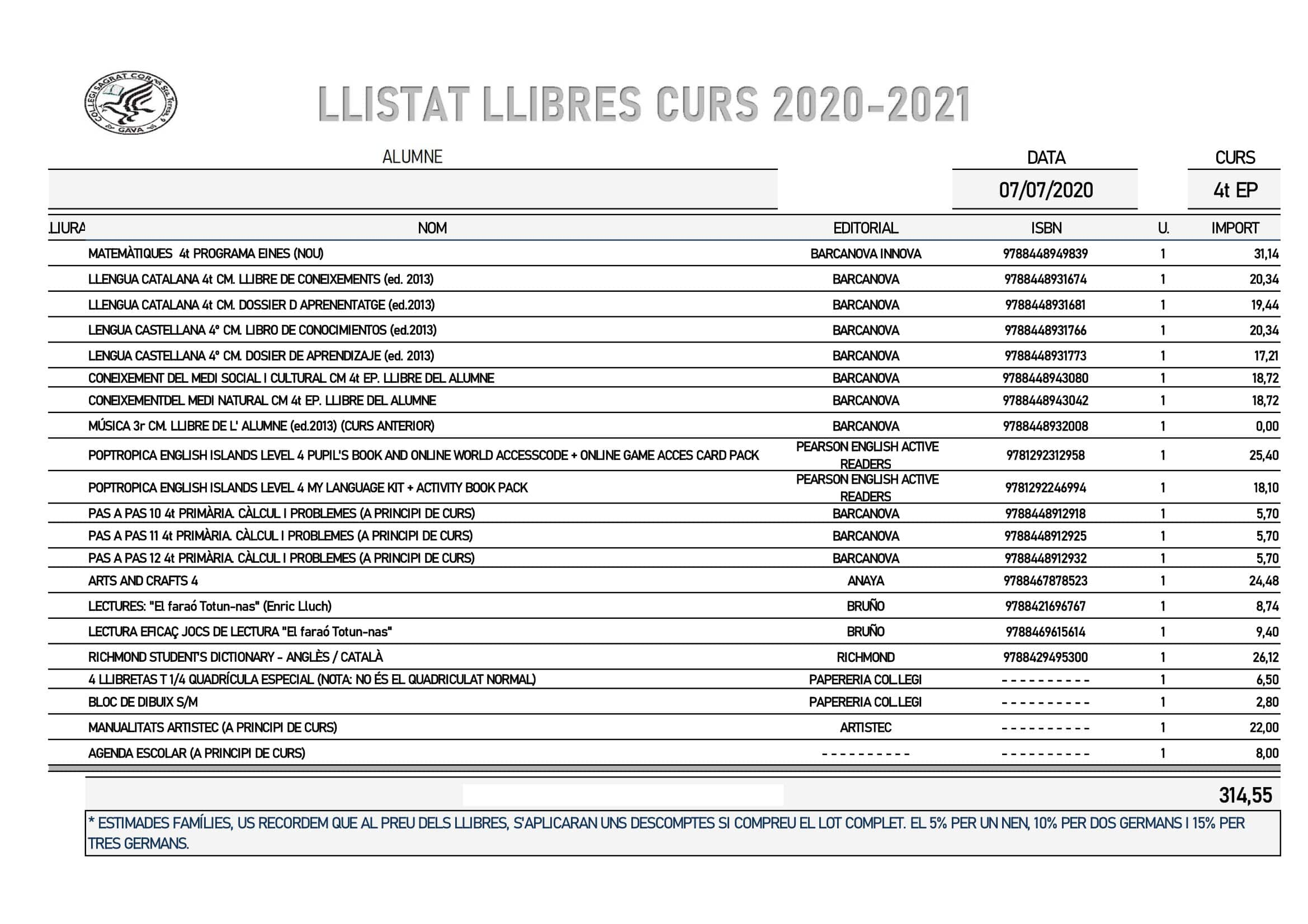 4EP CURS 2020 2021